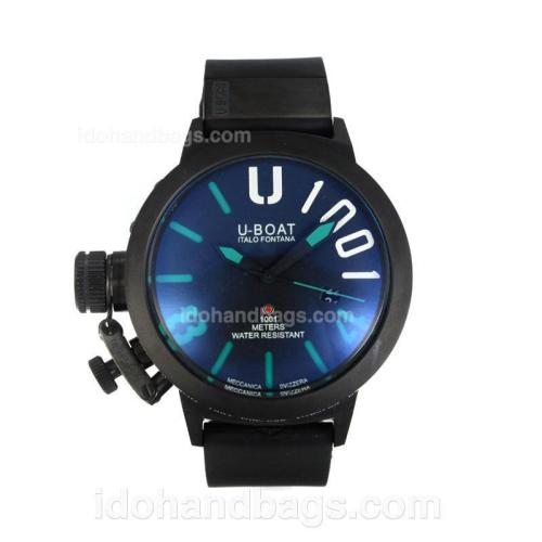 U-Boat Italo Fontana Automatic Full PVD with Black Dial-Green Markers 167080