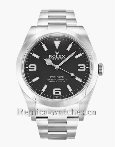 Rolex Explorer Black Dial 39MM 214270