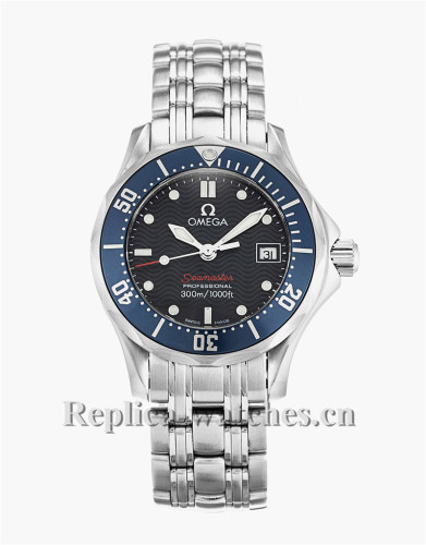 Omega Seamaster 300m Ladies Black Dial 28MM 2224.80.00