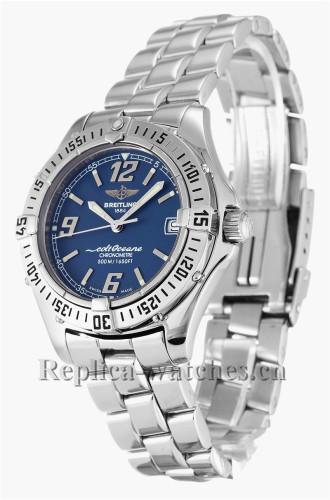 Breitling Colt Oceane Quartz Blue Dial A57350