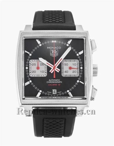 Tag Heuer Monaco Black Dial 39MM CAW2114.FT6021