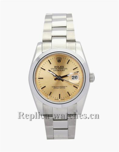 Rolex Datejust Gold Dial 36MM 16013