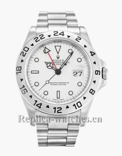 Rolex Explorer II White Dial 40MM 16570