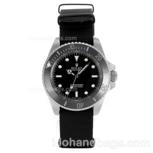 Rolex Submariner Automatic Ceramic Bezel with Black Dial-Sapphire Glass 117914