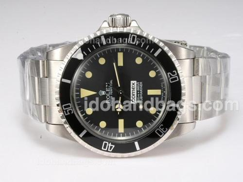 Rolex Submariner Ref.5514 Automatic with Black Dial and Bezel-Vintage Edition 10149
