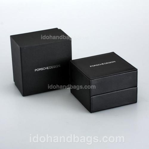 Porsche Design High Quality Black Wooden Box 115750