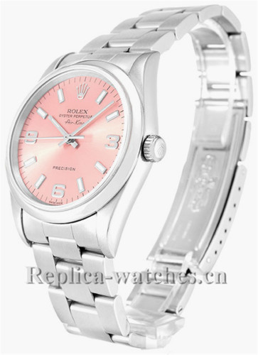Rolex Air King Stainless Steel Strap 14000