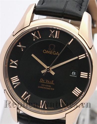 Omega De Ville Hour Vision Black Dial 41 MM
