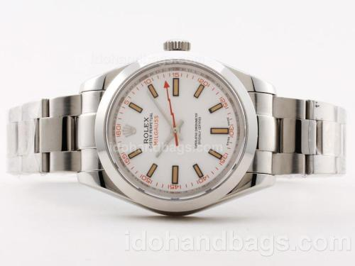 Rolex Milgauss Swiss ETA 2836 Movement with Orange Marking-New Version 40mm 30564
