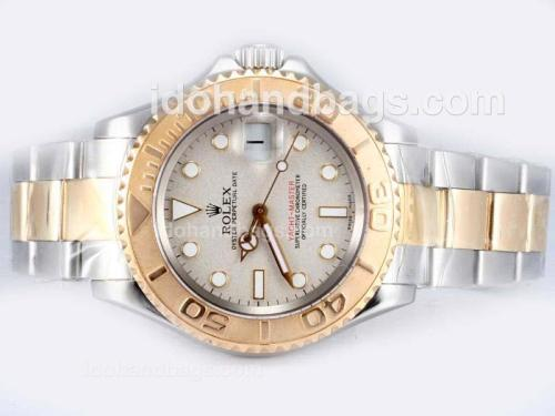 Rolex Yachtmaster Swiss ETA 2836 Movement Two Tone-14K Wrapped Gold 17475