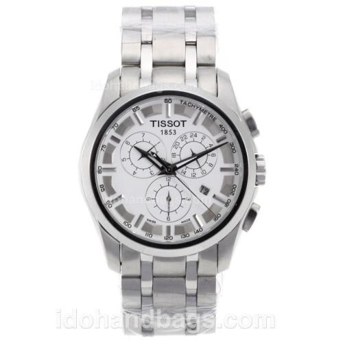 Tissot PRC200 Automatic with White Dial S/S 70073
