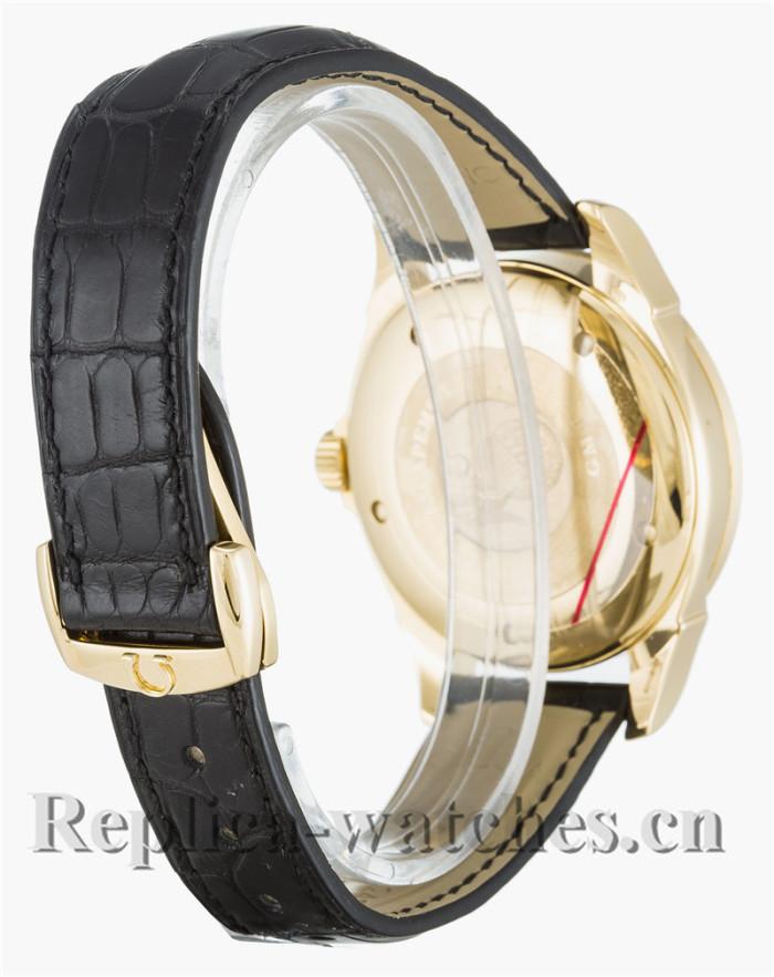Omega De Ville Co-Axial Black Leather Strap 39MM 4633.30.31