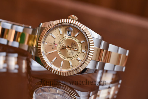 2017 Rolex Sky Dweller Automatic Yellow Gold Dial