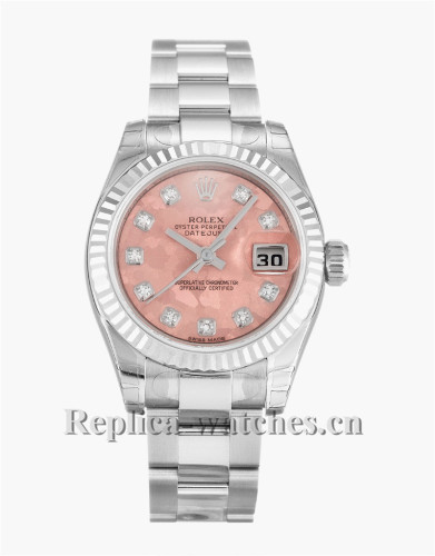 Rolex Datejust Lady Pink Dial 26MM 179174