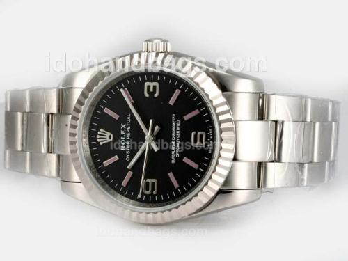 Rolex Air-King Oyster Perpetual Automatic with Black Dial 18617