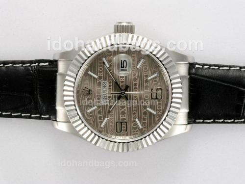 Rolex Datejust Automatic with Gray Dial New Version 12767