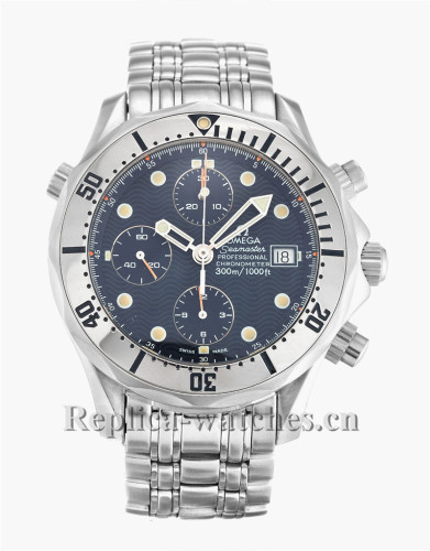 Omega Seamaster Chrono Diver Blue Dial 42MM 2598.80.00