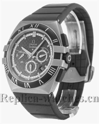 Omega Constellation Double Eagle Black Dial 41MM 121.92.41.50.01.001