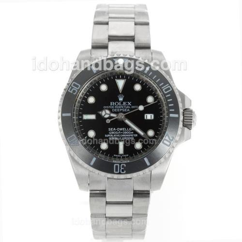 Rolex Sea-Dweller Automatic Ceramic Bezel with Black Dial S/S 114876