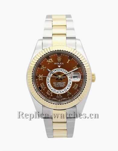 Rolex Sky-Dweller Brown Dial 42MM 326938