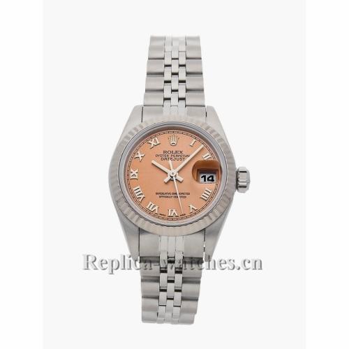 Rolex Replica Datejust Pink Case 69174