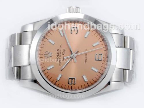 Rolex Air-King Precision Automatic with Champagne Dial 23143