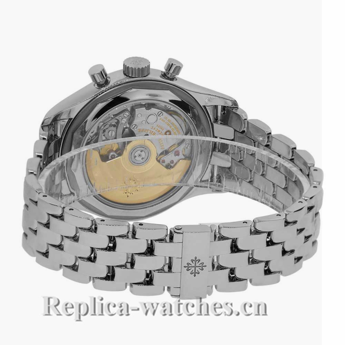 Patek Philippe Replica Complications Stainless-Steel Annual Calendar Chronograph 40MM Watch 59601A010