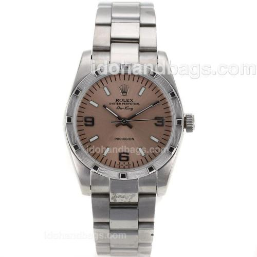 Rolex Air-King Precision Automatic with Champagne Dial 23257