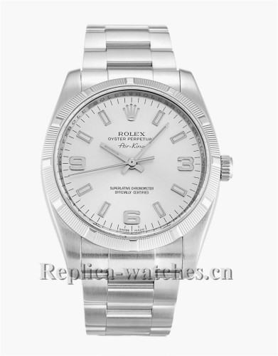Rolex Air King Stainless Steel Strap 114210