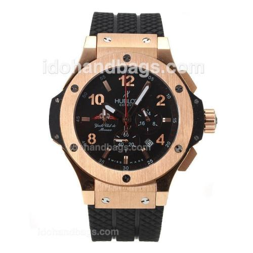 Hublot Big Bang Tuiga 1909 Working Chronograph Rose Gold Case--Same Structure as 7750-High Quality 30764