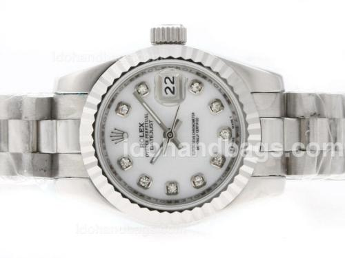 Rolex Datejust Automatic Diamond Marking with MOP Dial 37194