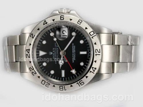 Rolex Explorer II Swiss ETA 2836 Movement With Black Dial 20315