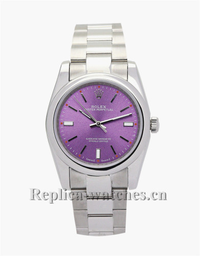 Rolex Lady Oyster Perpetual Purple Dial 31MM 177200