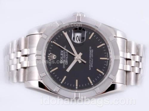 Rolex Datejust Automatic with Black Dial 23130