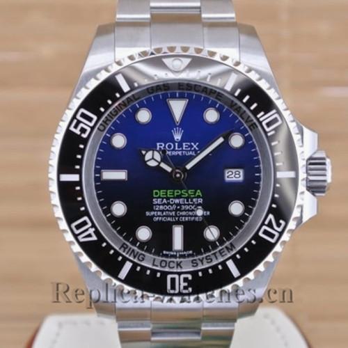 Swiss Rolex Sea Dweller Automatic With Black Ceramic Bezel 116660