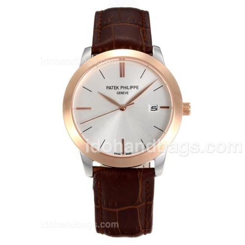 Patek Philippe Classic Rose Gold Case with White Dial-Sapphire Glass 162236
