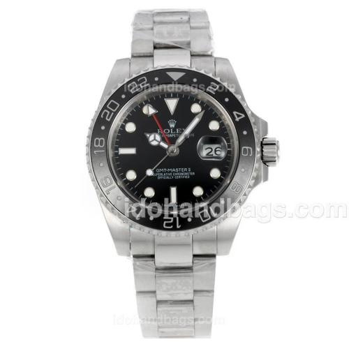 Rolex GMT-Master II Automatic with Red GMT Hand-Ceramic Bezel 36537