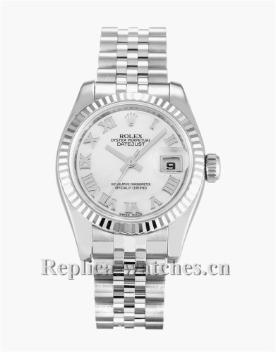 Rolex Datejust Lady White Dial 26MM 179174