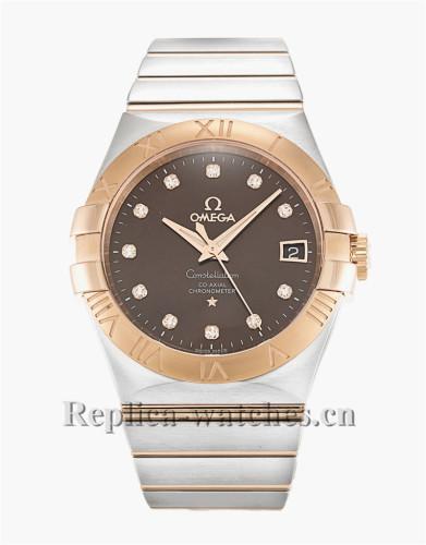 Omega Constellation Chronometer Stainless Steel Strap 35MM 123.20.35.20.63.001