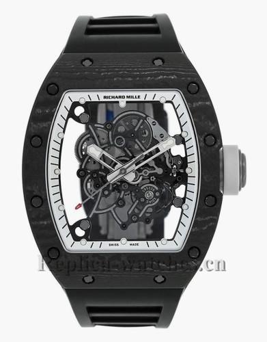 Replica Richard Mille Bubba Watson White Legend Ceramic Titanium Watch RM055 CA