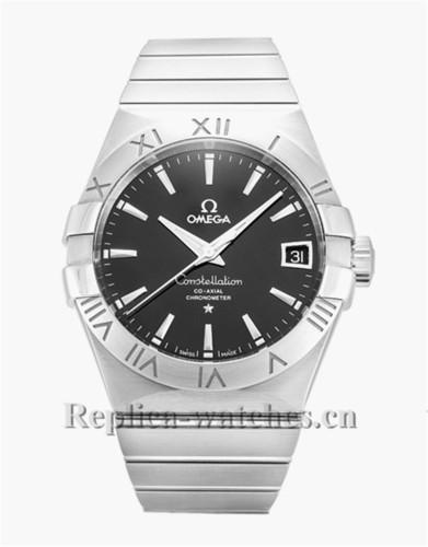 Omega Constellation Chronometer Black Dial 38MM 123.10.38.21.01.001
