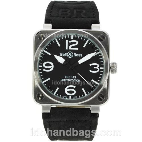 Bell & Ross BR01-92 Limited Edition with Black Dial-White Markers-38x38MM 129480