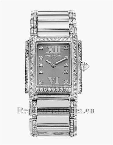 Patek Philippe Twenty-4 Diamond Bezel 23MM 4908/310G