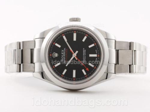 Rolex Milgauss Swiss ETA 2836 Movement with Stick Marking-New Version 40mm 30563
