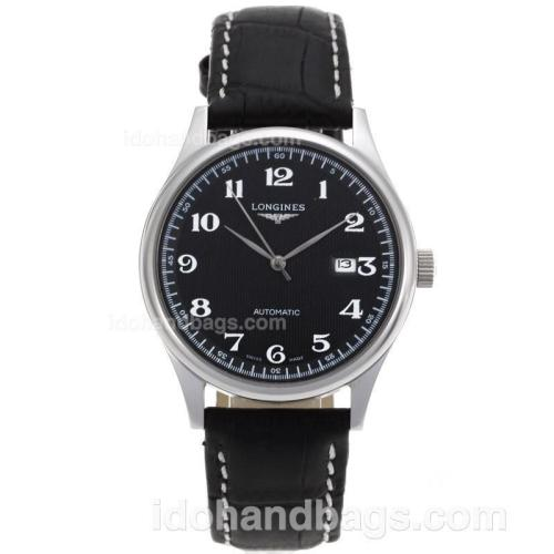 Longines Master Collection Automatic with Black Dial-Sapphire Glass 82556
