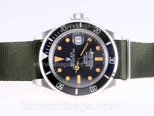 Rolex Submariner Automatic Vintage with Nylon Special Edition 23276
