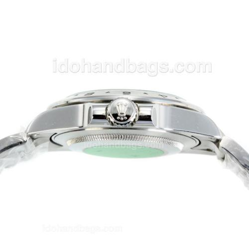 Rolex Explorer II Automatic with Black Dial S/S-Same Chassis as ETA Version-High Quality 72857