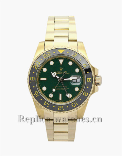 Rolex GMT Master II Black Dial 40MM 116718LN
