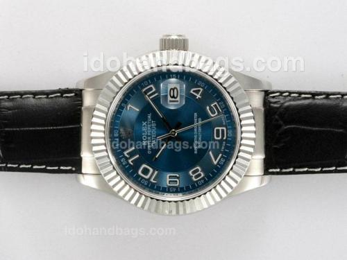 Rolex Datejust Automatic with Blue Dial New Version 12769