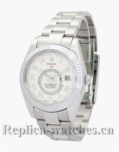 Rolex Sky-Dweller White Dial 42MM 326938